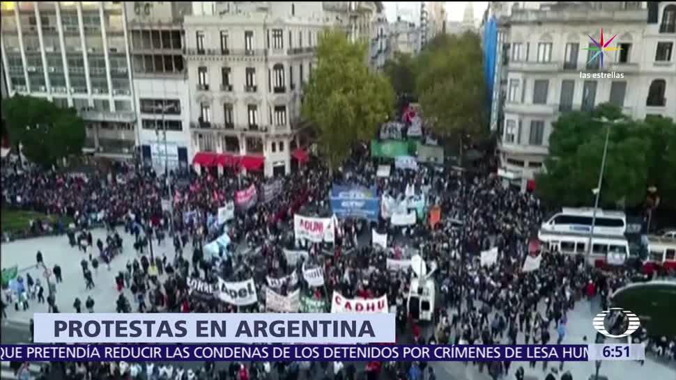 Congreso de Argentina, reducción de las sentencias, represores detenidos, leyes