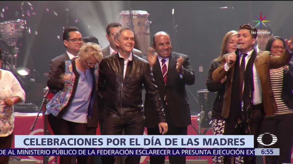 Miguel Ángel Mancera, jefe de Gobierno, CDMX, baila, Día de las Madres