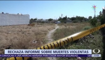 Gobierno de México, Instituto Internacional de Estudio Estratégicos, violentas, muertes
