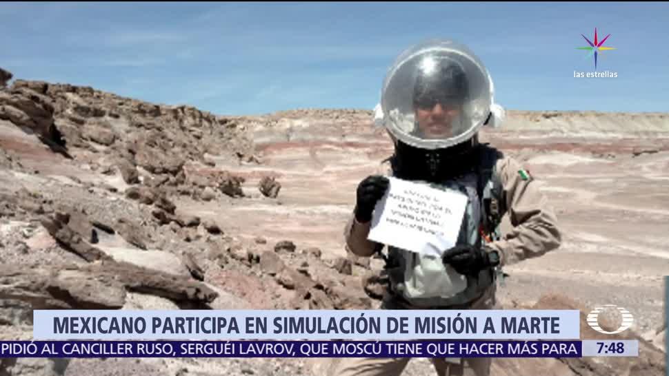 Yair Piña, estudiante, UNAM, NASA, explorar Marte
