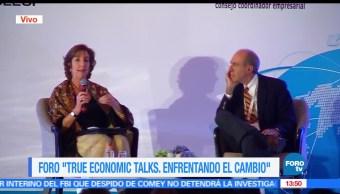 noticias, forotv, Embajadora de EU, participa, True Economic Talks, Roberta Jacobson