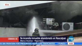 noticias, forotv, Desalojan, Naucalpan, incendio, predio abandonado