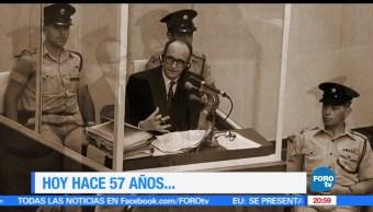 Efeméride, En Una Hora, Operación encubierta, contra, Adolf Eichman, criminal nazi