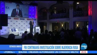 FBI, Andrew McCabe, continuará, investigación, Rusia, elecciones de Estados Unidos