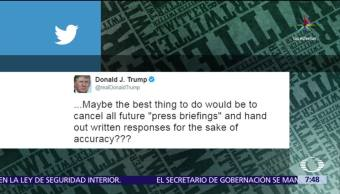 Donald Trump, ataca, periodistas,Chris Cuomo