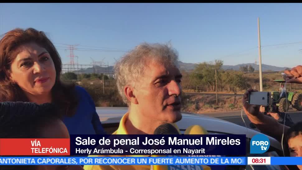 Sale penal de Tepic, José Manuel Mireles, autodefensas, Michoacán