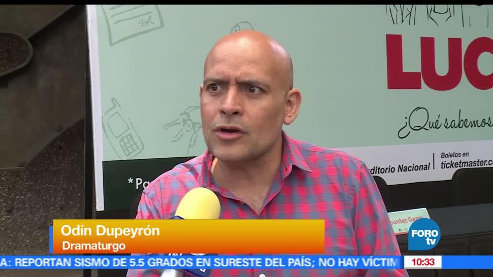 Odín Dupeyrón, LoEspectaculardeME, obra de teatro, Lucas