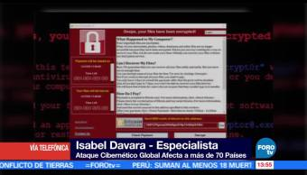 noticias, forotv, Ransomware, secuestra, computadoras, Isabel Davara