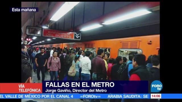 noticias, forotv, Falta de operadores, Metro, falla en la Línea 7, Gavino