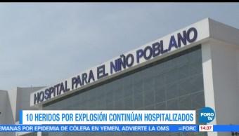 noticias, fofortv, hospitalizadas, 10 personas, explosion, polvorin en Puebla
