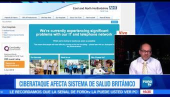 noticias, forotv, Ciberataque, dana, sistema de salud, britanico