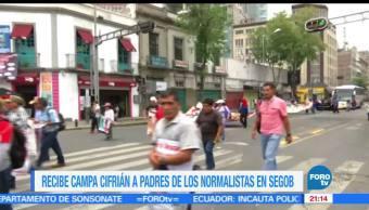 Familiares, 43, normalistas, marchan, Segob, ciudad de méxico