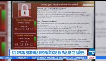 Colapsan, sistemas, peor ciberataque, informáticos