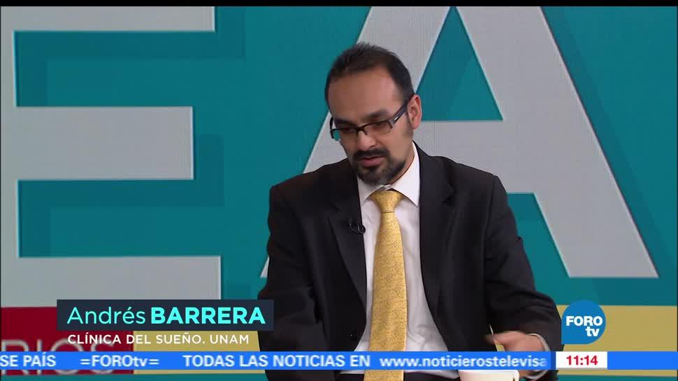 Andrés Barrera, Clínica de Trastornos del Sueño de la UNAM, efectos adversos, somníferos
