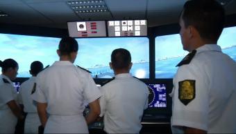 Entrenamiento, Heroica Escuela Naval Militar, Marinos, Veracruz, jóvenes, entrenan