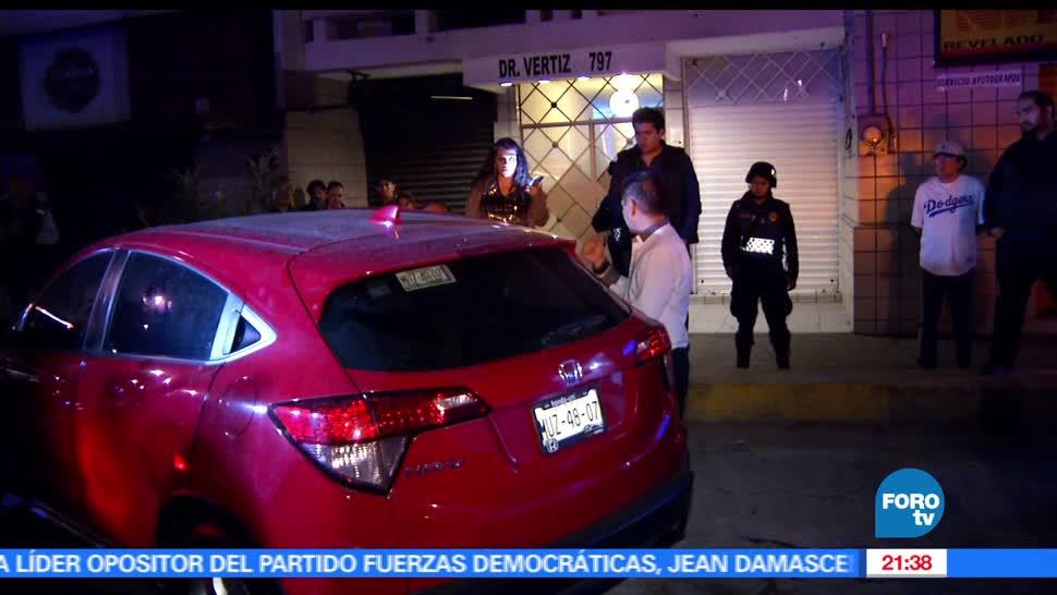 Mujer, muerde, policia, Torito alcoholímetro, ciudad de méxico, alcoholímetro