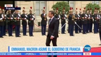 traspaso de poderes, Palacio del Elíseo, Macron, presidente de Francia