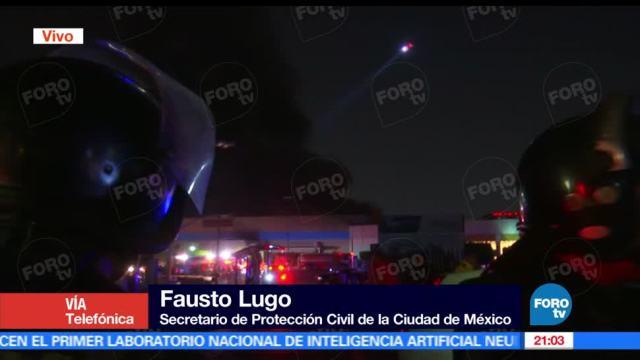 Incendio, centro comercial, Coyoacán, Walmart, Miguel Ángel de Quevedo, Universidad