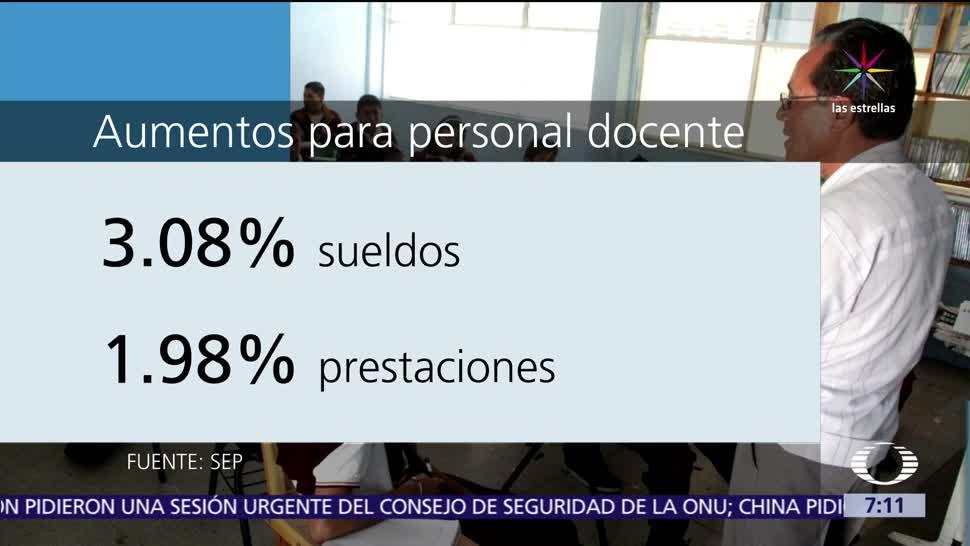 Secretaría de Educación Pública, sueldos, prestaciones, maestros del SNTE
