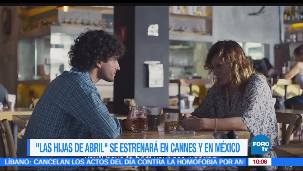 película de Michel Franco, Las hijas de Abril, festival de Cannes, México