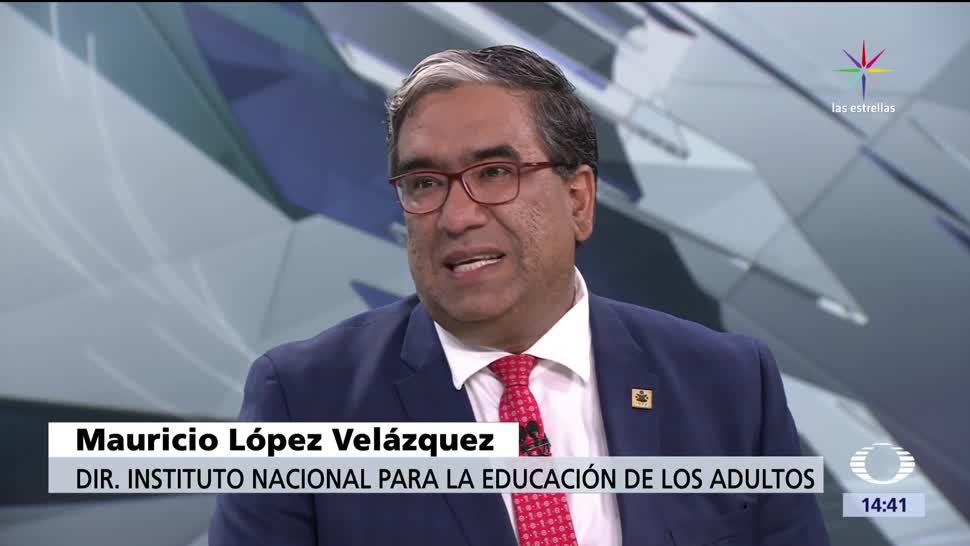 Trabajadores, deportados, Mauricio López, director del INEA,