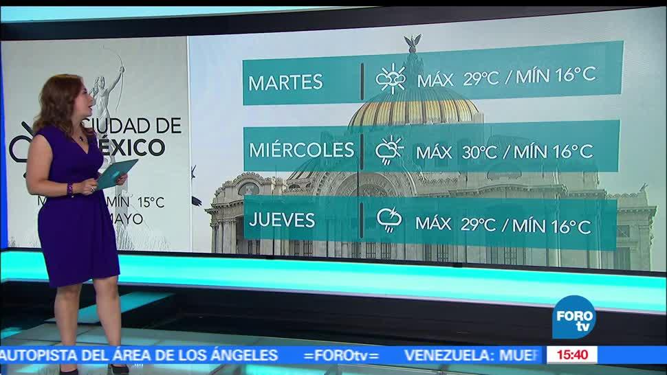El clima, Raquel Méndez, tormentas fuertes, Tiempo al Tiempo