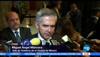noticias, forotv, Mancera, Navarrete Prida, se reunen, privado