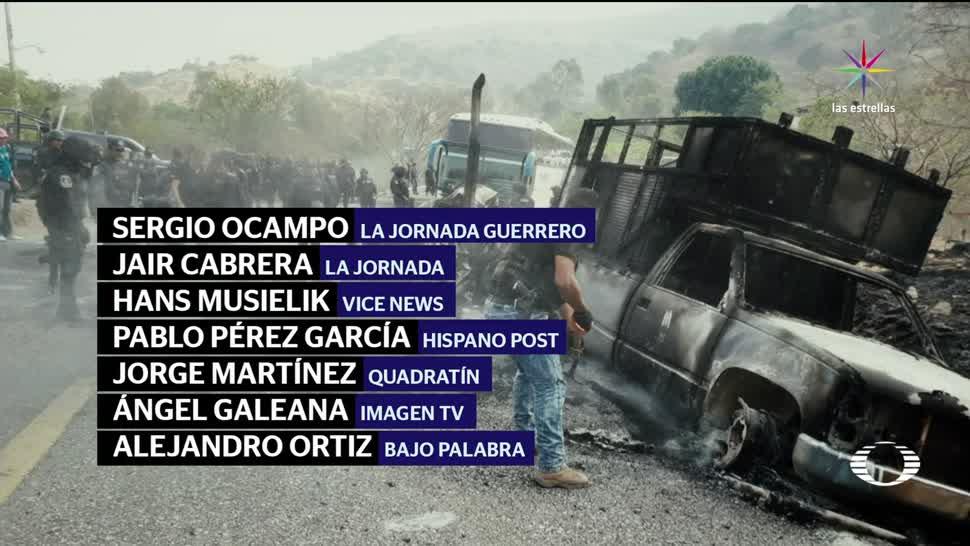 noticias, Noticieros Televisa, Retienen, amenazan y roban, periodistas, Tierra Caliente
