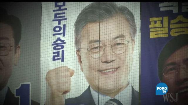 noticias, forotv, Corea del Sur, fabula de Esopo, paz, Moon Jae-in