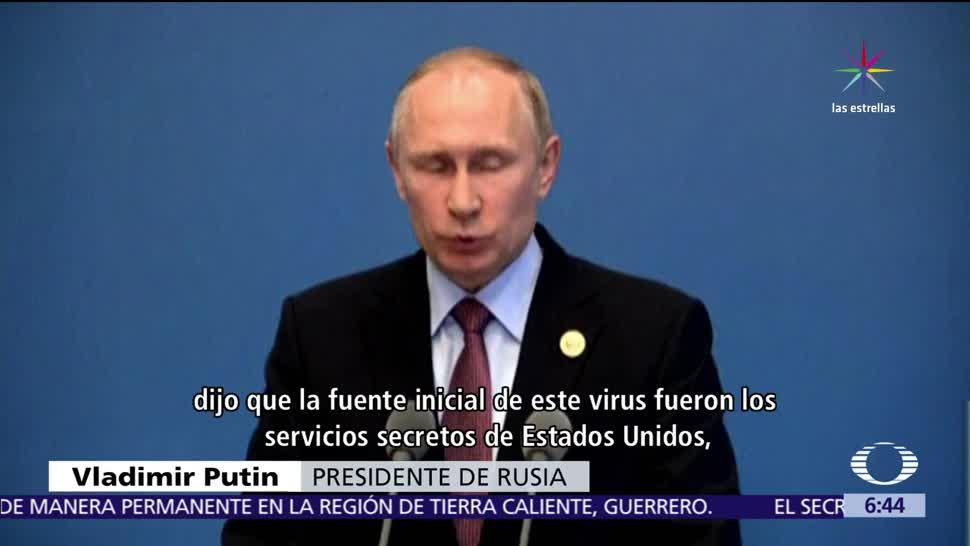 presidente de Rusia, Putin, Estados Unidos, ciberataque, usuarios