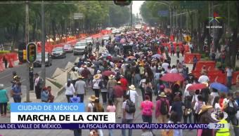 Día del Maestro, integrantes de la CNTE, Chiapas, Oaxaca, Guerrero