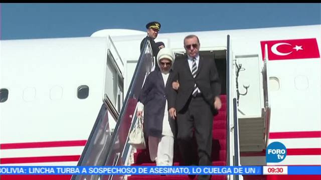 Recep Tayyip Erdogan, Donald Trump, turco, arribó