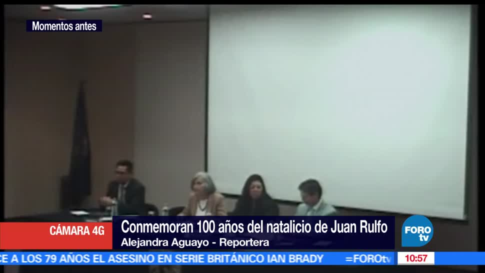 conmemoran, cien años, natalicio, escritor Juan Rulfo,