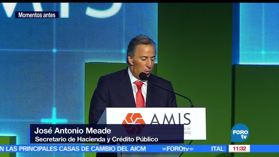 secretario de Hacienda, Meade, sector asegurador, dinámico