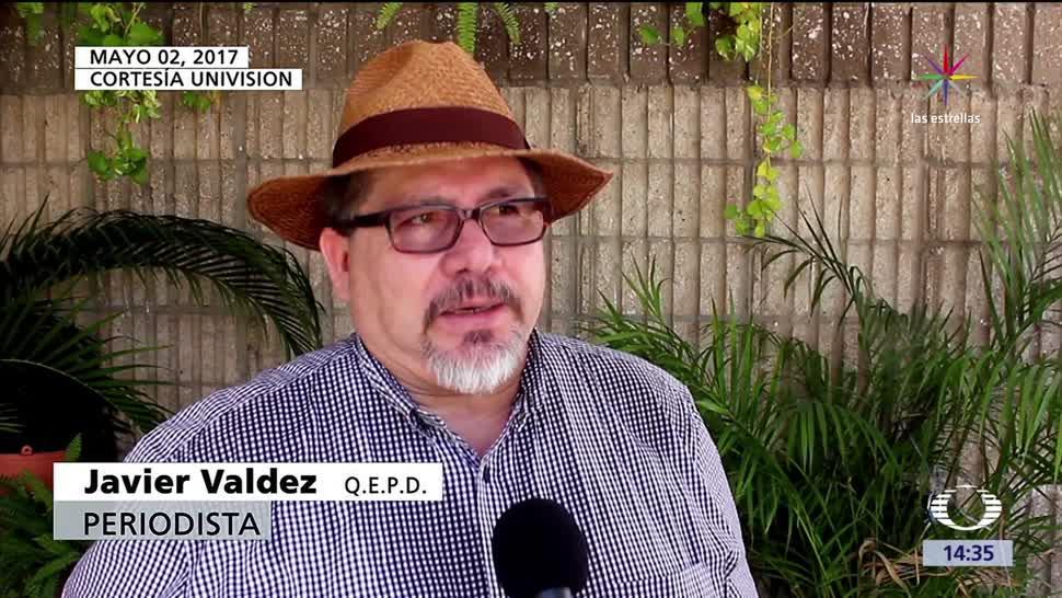 Javier Valdez, cárteles de las drogas, televisión, Univisión