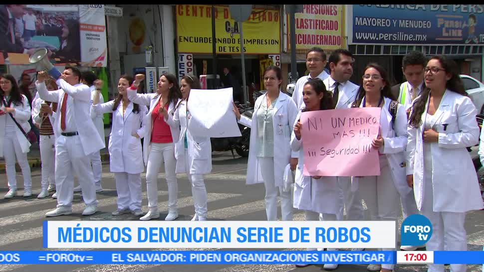 Médicos, Hospital Juárez, manifiestan, seguridad