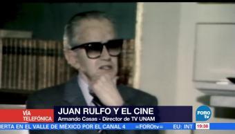 noticias, FOROtv, Juan Rulfo, autor, escribia para todos, Armando Casas