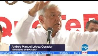noticias, forotv, AMLO, Metepec y Toluca, morena, elecciones estado de mexico