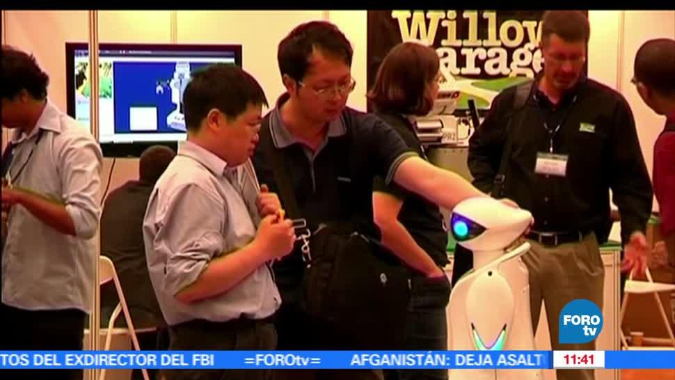 NOTICIAS, foroTV, Inauguran, Cuarta Cumbre, Robots, China