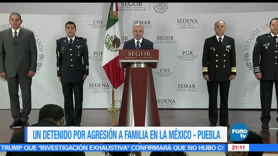 Capturar, implicado, ataque familia, México- Puebla, agresor, sexual