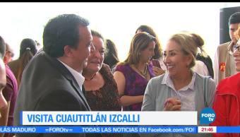 Candidato, PT, recorre, Cuatitlán Izcalli, Estado de México, Gobernador