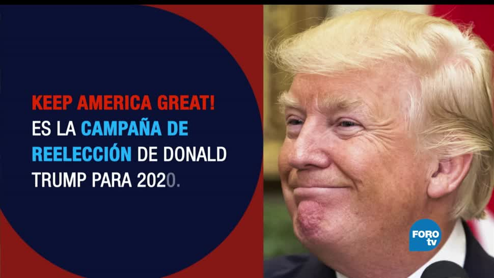 Estados Unidos, Trump, rumbo, 2020, Elecciones, Keep America Great
