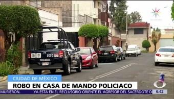 Procuraduría, CDMX, robo en casa, Policía Auxiliar, colonia Lindavista