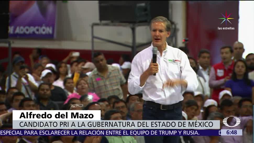 mayo, candidatos al gobierno, Estado de México, elección