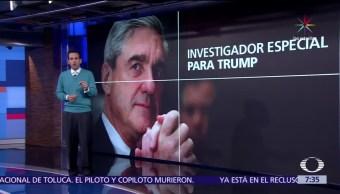 Robert Mueller, exdirector del FBI, campaña de Donald Trump, Rusia