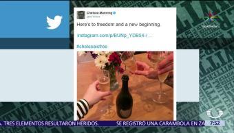 exsoldado Chelsea Manning, foto a Twitter, encarcelada, filtrar documentos a Wikileaks