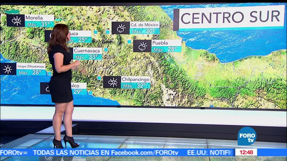 Ciudad de México, grados, temperatura, probabilidad de lluvias