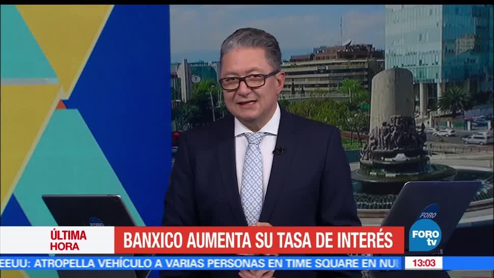 Banco de México, tasa de interés, 25 puntos, mercado
