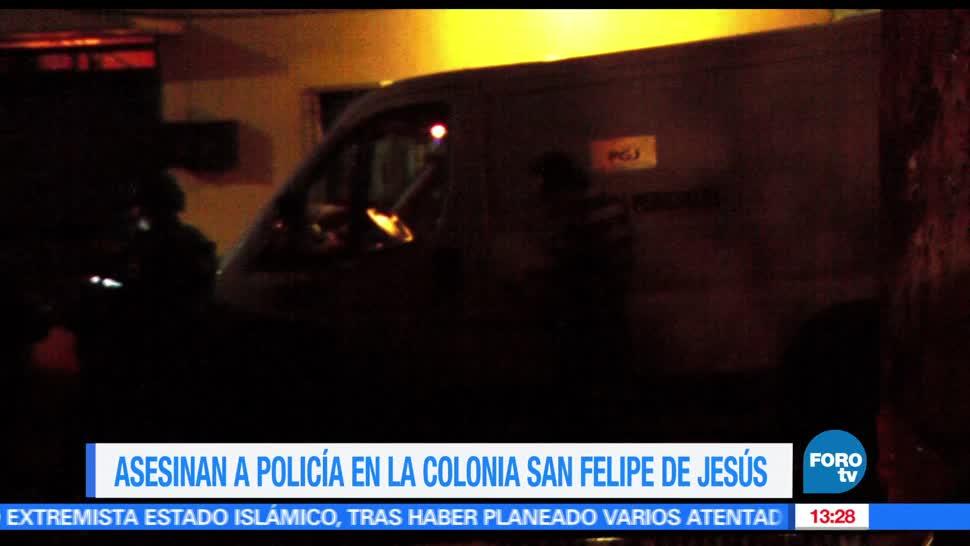 noticias, FOROtv, policia, baleado, colonia San Felipe de Jesus, GAM