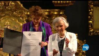 Recibe, Elena, Poniatowska, premio, Sor Juana, Inés de la Cruz